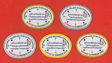 WORLD ASSOCIATION OF GIRL GUIDES & GIRL SCOUTS - Eliminate Poverty 2015 Patch