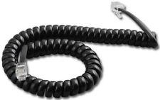 50 NEC Series E DTP DTU 8 8D 16D 32D 1 2 BK TEL 9' FT Phone Handset Cords Black