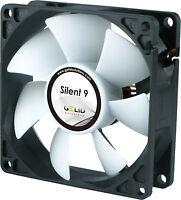 Gelid Solutions Silent 9, Quiet Case Fan, 9cm, 90mm, 1500rpm, FN-SX09-15