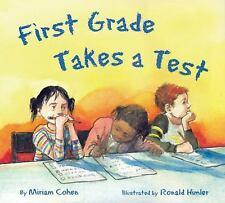 First Grade Takes A Test/El examen de primer grado (Spanish Edition)-ExLibrary