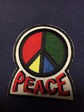Iron On Patch -  Peace Symbol