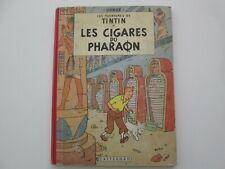 TINTIN LES CIGARES DU PHARAON 1960 B29 BE/TBE