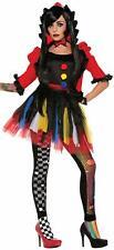 Forum Novelties Women's Twisted Attraction Clown Costume, XS/S