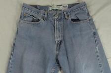 Levi 505 Straight Leg Regular Fit Faded Denim Jeans Tag 33x32 Measure 32x31