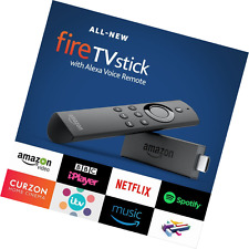 All-New Fire TV Stick with Alexa Voice Remote | Streaming Media Player
