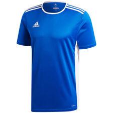 adidas Football Youth Soccer Estro 15 Jersey Boys Climalite Blue White 164