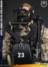 """DAM Toys 1/6 Scale 12"""" Marine Force Recon Combat Diver Action Figure 78056 New"""