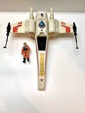 Vintage Star Wars 1978 X-Wing Fighter Kenner And pilot Luke Skywalker