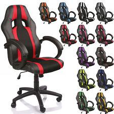 Racing Chefsessel Bürostuhl Drehstuhl Bürosessel Schreibtischstuhl Schalensitz