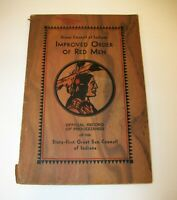 1930 - Sixty First Great Sun Council of Indiana Order of Red Men Records Book