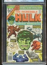 INCREDIBLE HULK ANNUAL #5 CGC GRADED 8.5 WHITE PAGES 1976 2nd GROOT #3874377002