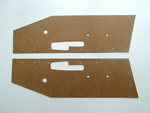 Jaguar E-type S2 2+2 seater Door cards