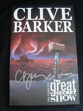 Clive Barker Signed Complete Great and Secret Show TPB Science Fiction Club