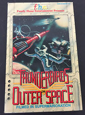 Vintage Thunderbirds in Outer Space VHS large box, Family Home Entertainment