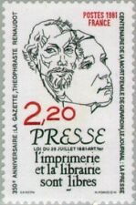 FRANCE -1981- Press - Act of 29 July 1881 Article 1 - Printing and Library #1743