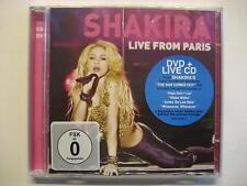 "Shakira ""Live from paris"" - CD & DVD-OVP"