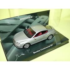 BENTLEY CONTINENTAL GT Gris MINICHAMPS 1:43