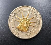 Statue of Liberty Centennial 100th Anniversary Commemorative Coin 1886-1986