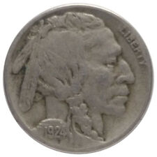 1924-S 5c Buffalo Nickel A0 - Very Tough Date & Mint with 2/3 Horn
