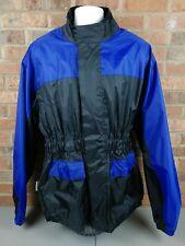 HIMALAYA MOTOR BIKE WEAR Men's Blue Waterproof Motorcycle Jacket Size Large