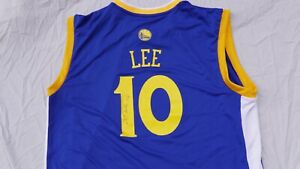 "DAVID LEE ""GOLDEN STATE WARRIORS"" SIGNED JERSEY WITH COA"