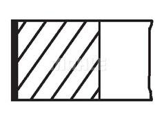 MAHLE ORIGINAL Piston Ring Kit 040 04 N0