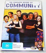 COMMUNITY : Season 2---- (DVD 4-Disc Set New & Sealed)