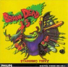 PHILIPS CDI BRAIN DEAD 13 GAME SPIEL JEU CD-I GAME MAGNAVOX BRAINDEAD 13