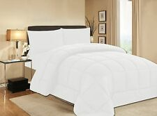 Black Soft Goose Down Alternative Comforter  , Twin , Queen , King Size