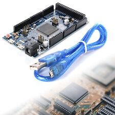 Für Arduino Due R3 SAM3X8E 32-bit ARM Cortex-M Control Board Module +Cable TE223