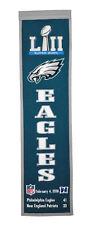 Philadelphia Eagles Super Bowl LII (52) Champions Embroidered Heritage Banner