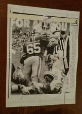 Vintage NFL 1984 Wire Press Photo REDSKINS VS 49ERS  JOHN RIGGINS Scores
