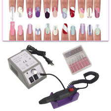 Pro Electric Acrylic Manicure Pedicure Drill File Tool Nail Art Pen Machine Set