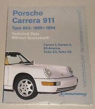 Reparaturanleitung Porsche 911 Typ 964 Carrera 2 + 4, Turbo 3.3 + 3.6 (1989-94)