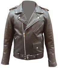 Giubbotto giacca pelle chiodo uomo nappa stile moto metal rock punk auklet