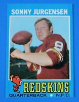 1971 TOPPS SONNY JURGENSEN FOOTBALL CARD #50 ~ NM/MT