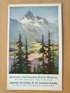 Souvenir of the Canadian Pacific Railway - Old Postcard 583