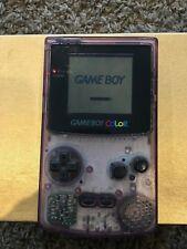 Game Boy Color Clear Purple + 31 Games Huge LOT