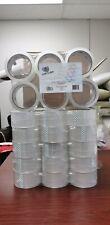 36 Rolls Clear Carton Sealing Packing Tape Box Shipping 2 Mil 2 X 55 Yards