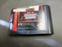 Nobunaga's Ambition (Sega Genesis, 1993)