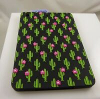 for Ipad mini , cover cactus  design  bling black background green and pick