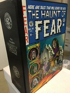 EC HAUNT OF FEAR Hardbacks, Reprint all issues, Excellent Condition with cover