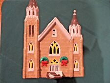 Vntg Original 1984 Department 56 Trinity Church New England Snow Village Ret '86