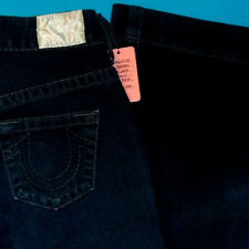 "26 x 32 ""  Pre-Owned TRUE RELIGION $216 FARRAH HIGH WASTED WIDE LEG JEANS"