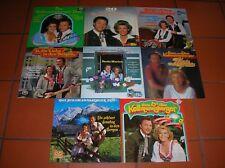 """""""12"""" - LP-Sammlung - HANS & ELLEN KOLLMANNSBERGER - 9 LPs und 2 DOLPs"""