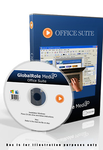 Office suite 2021 Word Processor Spreadsheet Database DTP Software windows MacOS