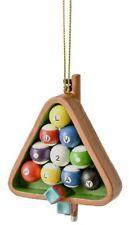 New listing Midwest-CBK MX180243 Billiard Pool Stick Balls Decorative Hanging Ornament