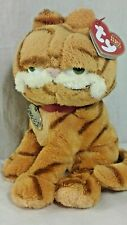 TY Beanie Babies GARFIELD Plush 2004 w/ Red Collar Super Soft with TAGS
