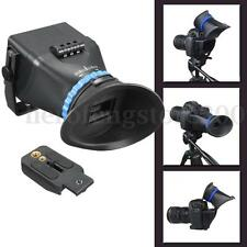 """5D3 5D2 SLR Flip 3 Magnification Viewfinder For 3"""" 3.2"""" LCD Screen Canon Nikon"""
