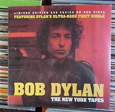 BOB DYLAN LP: THE NEW YORK TAPES (2016, NEU;LTD.EDT.500 COPIES RED VINYL)